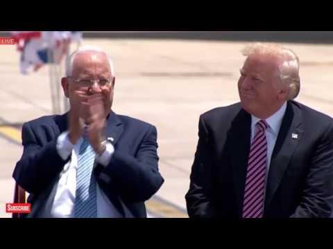 AMAZING: President Donald Trump Israel Speech, with Netanyahu, President Rivlin, Tel Aviv Jerusalem