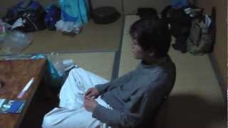 11年度 春合宿 上総興津 旅館室山 3日目 宴会開始前.