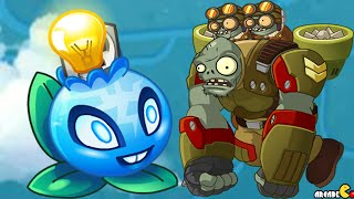 Plants Vs Zombies 2: 9th World Confirmed Neon Mixtape Tour Plant Electric Blueberry In PVZ 2 China!