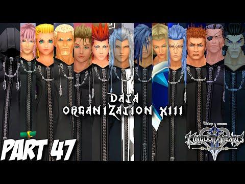 Kingdom Hearts 2.5 HD Remix - Kingdom Hearts 2 Final Mix Part 47 - Data Organization XIII - PS3