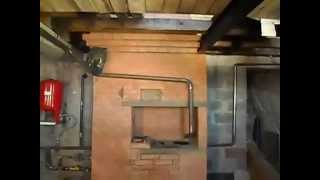 Система отопления коттеджа от отопительной копаковой печи с теплообменником .(, 2015-06-28T14:43:38.000Z)
