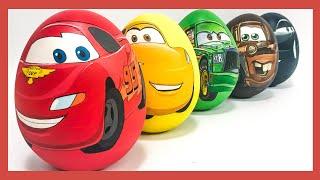 Игрушки Молния Маквин Тачки сюрприз. Яйца с сюрпризом  #мультачки #яйцо #игрушка #сюрприз