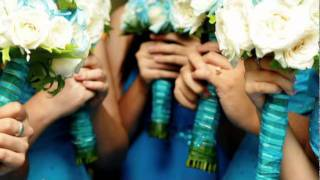 How to decorate blue wedding + best wedding reception table decorations