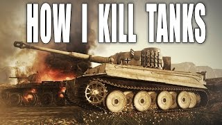 War Thunder Gameplay | How I Kill Tanks  (Ground Forces)