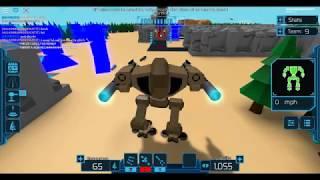 Roblox mech mayhem gameplay