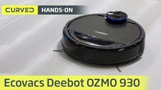 Ecovacs Deebot OZMO 930 im Test: der Superleise-Sauger im Hands-on | deutsch