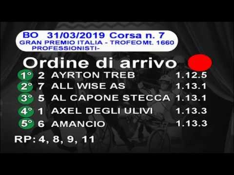2019 03 31 | Metri 1660 | Corsa 7 | Gran Premio Italia