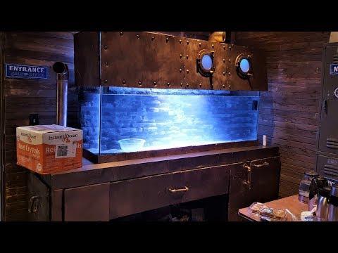 Fish Tank submarine custom built - Saltwater