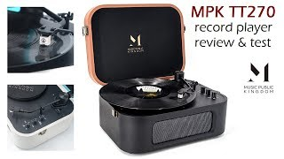 MPK TT270 - Finally a portable record player that doesn't suck!