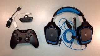 Logitech G430 avec Xbox One / Connection micro casque sur Xbox One