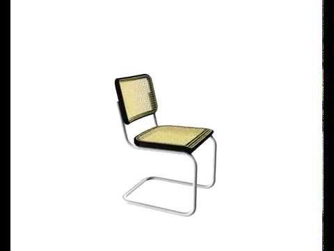 thonet s32 v garnitur schwarz stahlrohrklassiker design. Black Bedroom Furniture Sets. Home Design Ideas