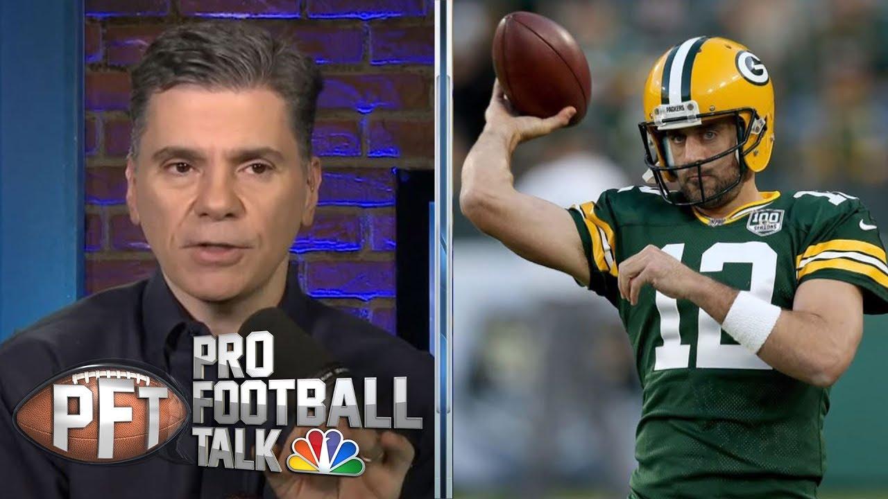 Mahomes, Rodgers, Wilson: Quarterbacks to give a blank check | Pro Football Talk | NBC Sports