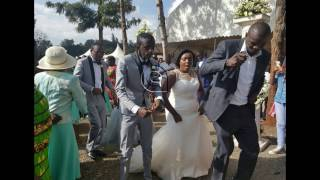 Real House helps of Kawangware's Njugush finally marries the love of his life in a beautiful wedding