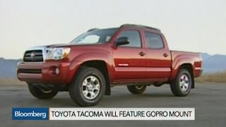 Lights, Camera, Action! Toyota Goes GoPro