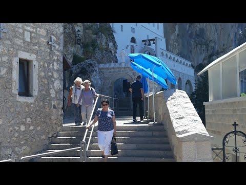 Manastir Ostrog i slano jezero-Montenegro +malo vožnje po uskim putevima ☺Travel vlog