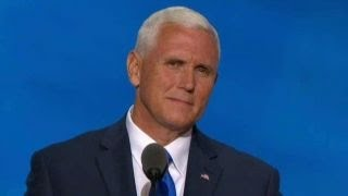 Mike Pence accepts GOP vice presidential nomination