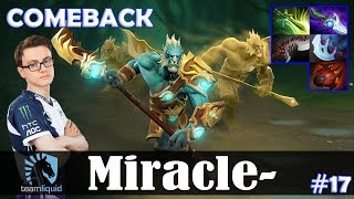 Miracle - Phantom Lancer Safelane | COMEBACK | vs zai (Tiny) | Dota 2 Pro MMR Gameplay #17
