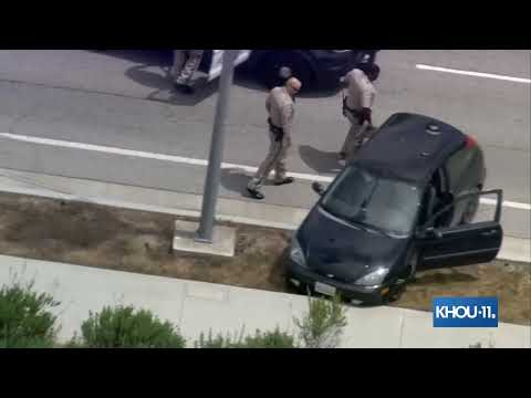 WATCH LIVE: Police chase in California