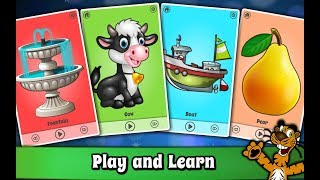 Baby First words Flashcards for Kids and Babies : Android App promotional video