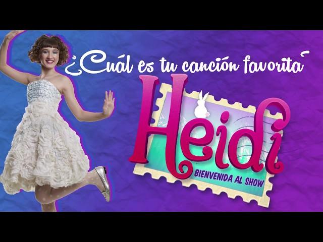 Heidi Bienvenida   Tu canción favorita #4