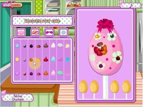 Игры из интернета: Флеш-играПасхальный кекс