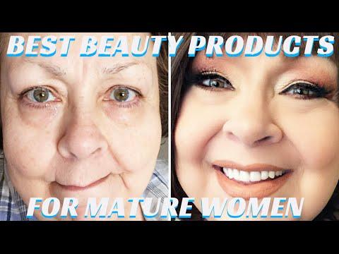Best Beauty Products for Mature Skin Video Tutorial Pt.1- mathias4makeup