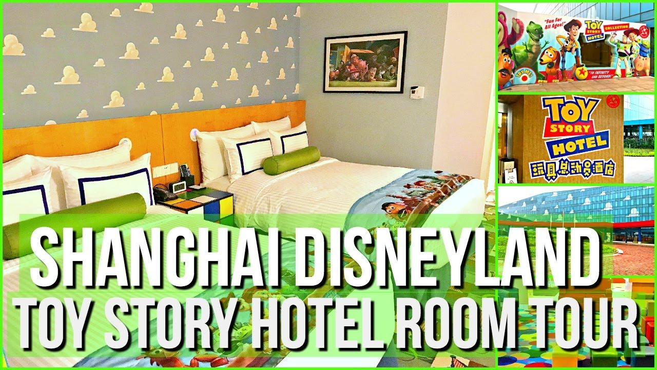 Shanghai Disneyland Toy Story Hotel Deluxe Theme Park View Room Tour
