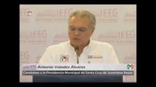 Debate IEEG candidatos de Santa Cruz de Juventino Rosas