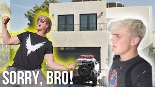 WE BROKE INTO JAKE PAUL'S HOUSE! **Prank Wars**