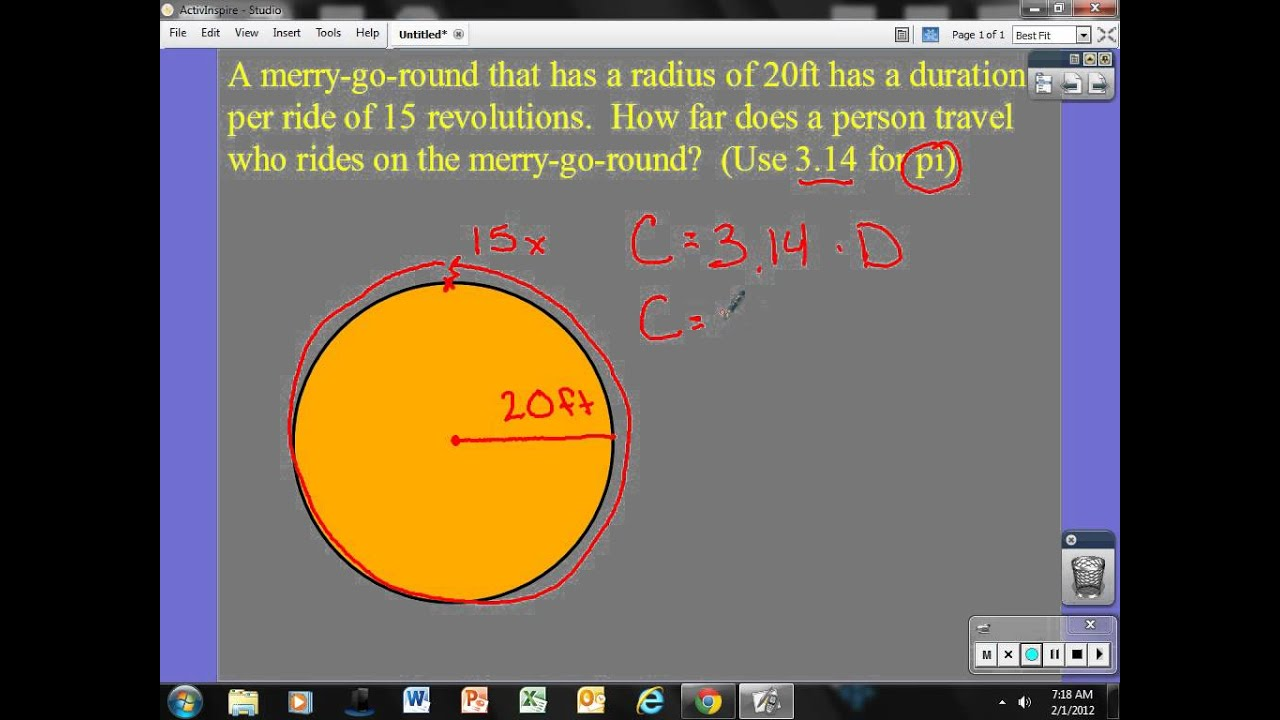 Circumference and Revolutions