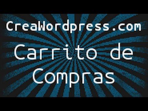 Carrito de compras con WordPress y PayPal - CreaWordpress.com - YouTube