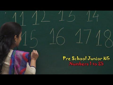 Numbers 11 to 25 | Let's Learn Numbers | Numbers Song | Count Numbers | Pre School Junior