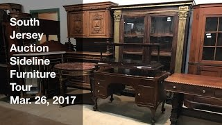 March 26, 2017 Sideline Furniture Tour - South Jersey Auction