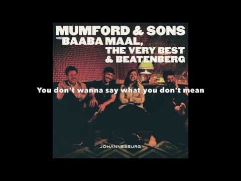 Mumford & Sons, Wona - Lyrics