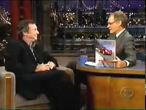 Pink Floyd - Nick Mason interview with David Letterman 1998