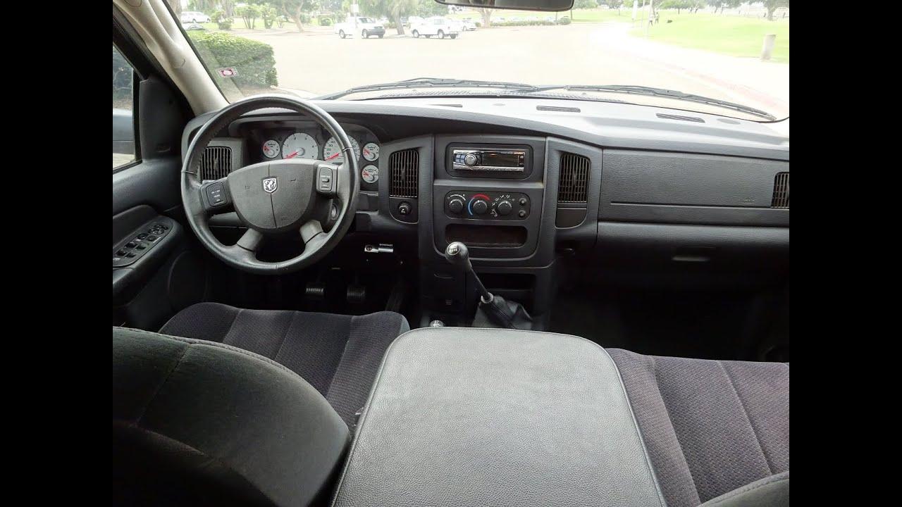 2005 dodge ram 2500 4x4 5 9l cummins diesel 6spd manual 36k original miles 2 owner test drive [ 1280 x 720 Pixel ]