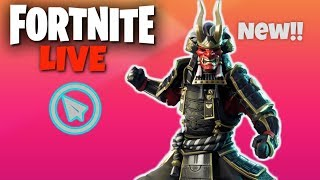 Scavenger Pop Up Cup // Fortnite LIVE // Item Shop Reset // NEW Skins