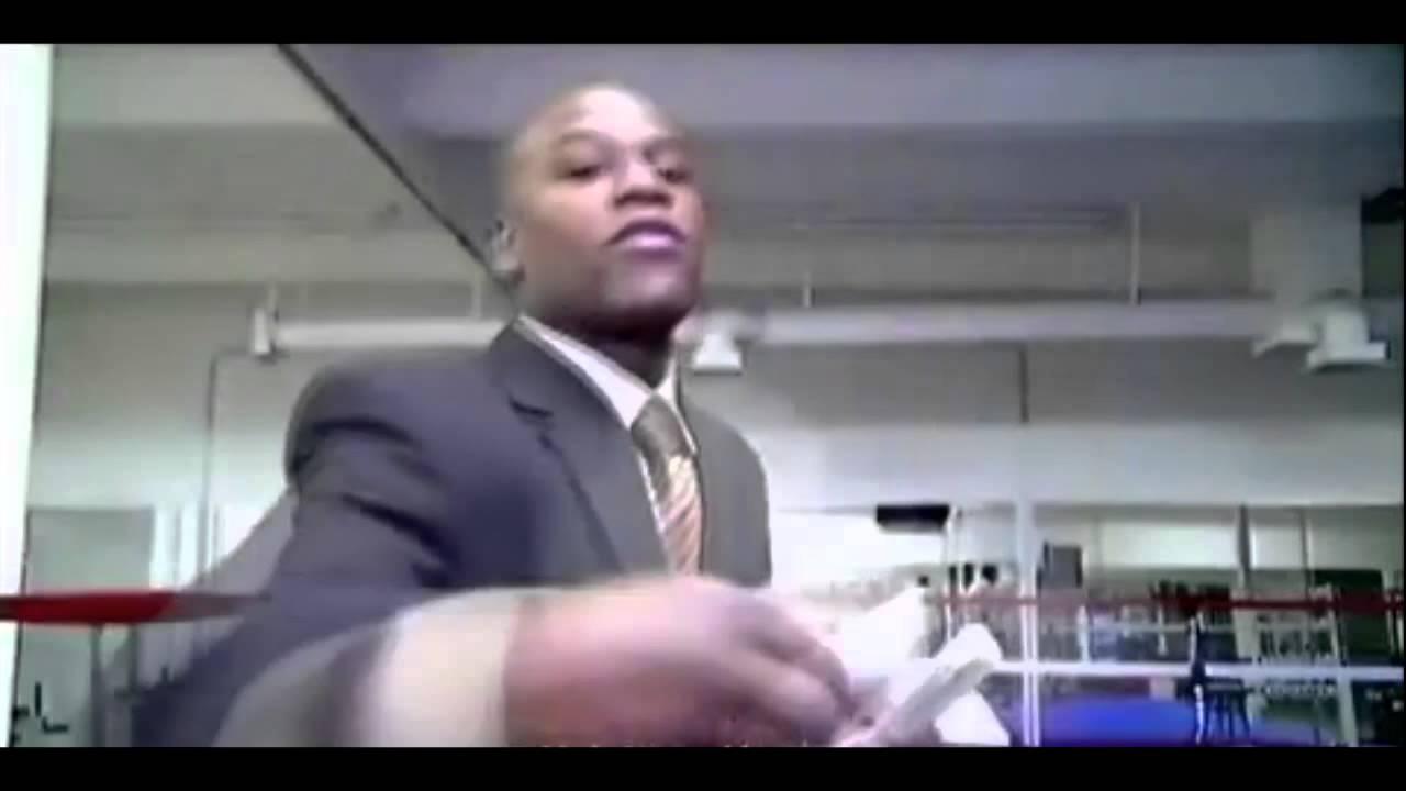 Floyd Mayweather Makes It Rain Youtube