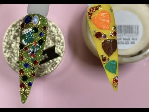 Full Live Tutorial: Christmas Special With #GlitzCrystals