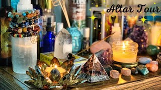 What's On My Altar(s)??|Altar Tour (Very Detailed)| Pretty Hippie