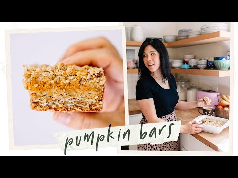 The Only Pumpkin Recipe you need this Thanksgiving Pumpkin Pie Oat Bars