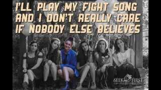"Cimorelli ""Fight song""  ( Cover -  Lyrics )"