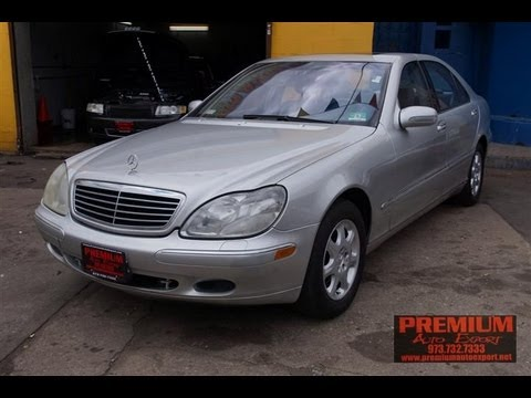 Awesome 2001 Mercedes Benz S430