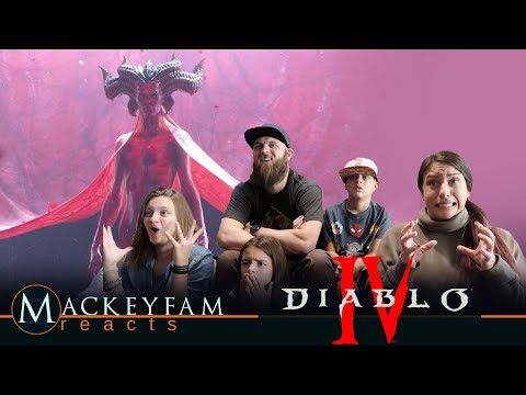 Diablo IV Announce Cinematic | By Three They Come- REACTION and REVIEW!!!