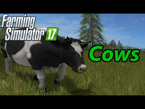Farming Simulator 17 Tutorial | Cows
