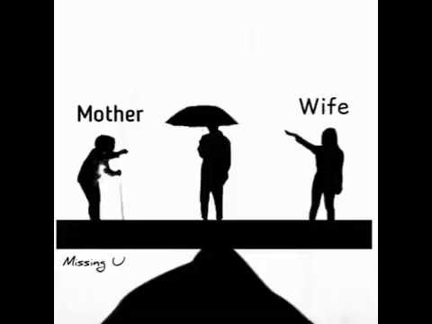 Life balance between mother and wife - YouTube