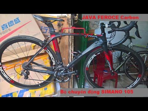 Xe đạp đua thể thao khung carbon CAO CẤP Java Feroce nhập khẩu chính hãng giá sold