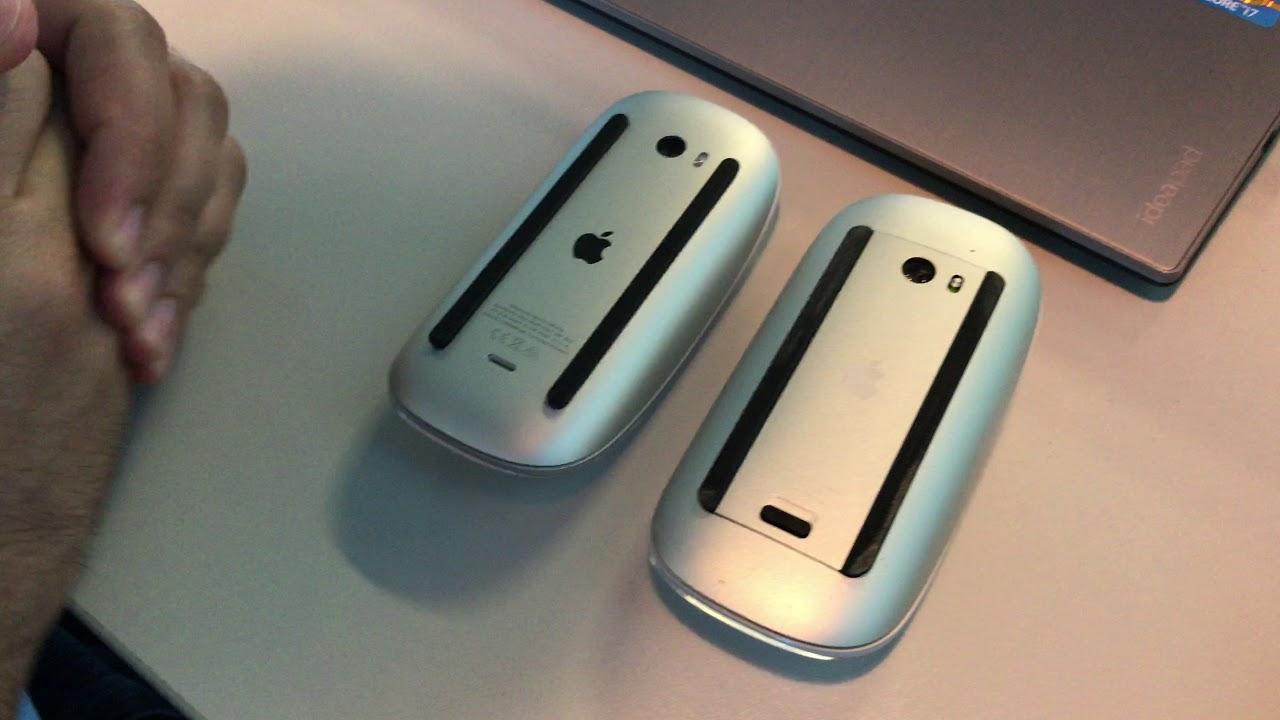 Apple Magic Mouse 1 ve 2 inceleme (apple kablosuz mouse) - YouTube