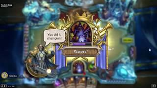Easy Win Warlock Deck for Lich King - Hearthstone