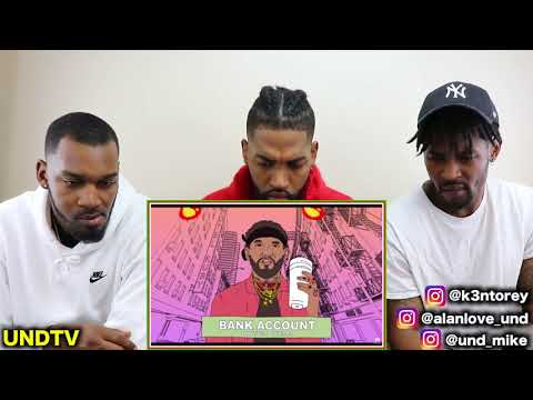 JOYNER LUCAS - BANK ACCOUNT [REACTION]